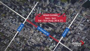 Ongoing 'Deadpool 2' filming leads to more Vancouver road closures this weekend