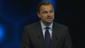 DiCaprio gives impassioned speech calling for bold action on climate change