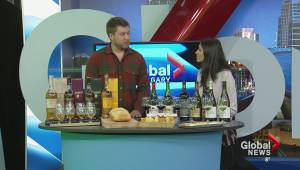 Scotch Tasting in Canmore; Joel Rooke, Mount Engadine Lodge, and Jordan Cameron, Charlton-Hobbs Wine and Spirits (03:33)