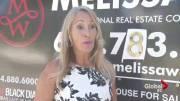 Play video: Suspect caught on camera vandalizing B.C. realtor's signs