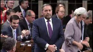 Mulcair presses Trudeau on specifics of his middle class tax cut