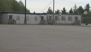 The Surrey school district is dealing with a portable shortage