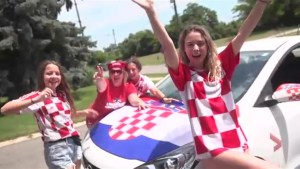 Croatia fans in Mississauga get ready for Sunday's World Cup final.