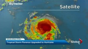 Tropical Storm Florence upgrades to a hurricane, threatens to effect Maritimes