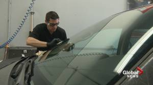 'I'm going for the gold!': Calgary windshield repairman trains for world championship (01:53)