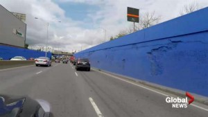 Blue Highway 20 sound wall inaugurated