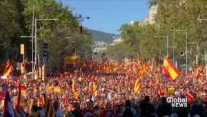 Spanish control of Catalonia tested as regional government returns to work