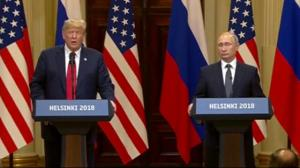 Trump stuns world as he appears to side with Putin