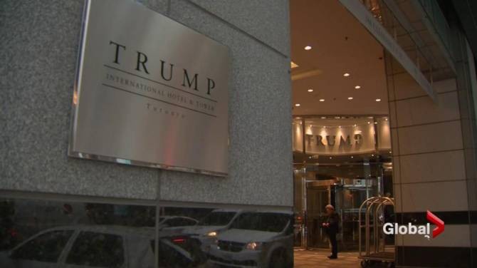 Security breach targets Trump hotels, Toronto and ...