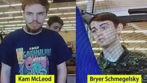 Murder suspects timeline
