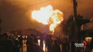 Charges laid against three people and rail company in Lac-Megantic disaster