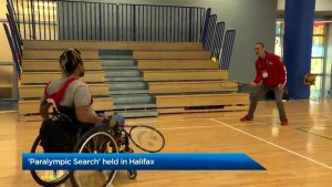 Paralympic Search held in Halifax
