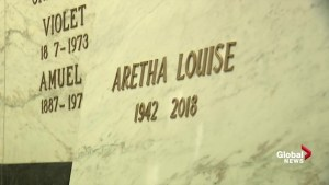 Aretha Franklin: 'Queen of Soul's' casket laid to rest at Woodlawn Cemetery