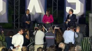 Leonardo DiCaprio asks President Obama to grade global response to climate change