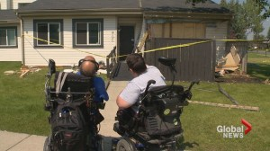 Shocking crash destroys home, leaves Calgary couple living with disabilities devastated
