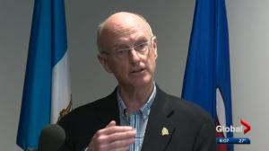 Edmonton Police Commission and Police Chief Rod Knecht explain why contract extension didn't get done