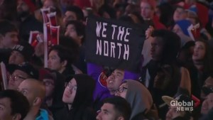 Raptors fans never in doubt, react to Game 5 victory