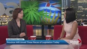 B.C. to unveil new pot legislation on Thursday