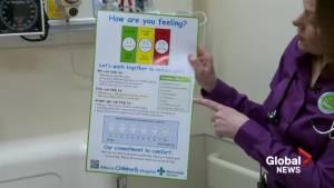 Alberta Children's Hospital offers pain relief menu at emergency department