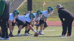 'Life moves on': Roughriders on the field for Day 1 of training camp