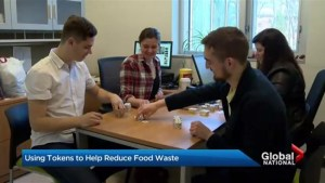 Token meals to combat food waste in Canada
