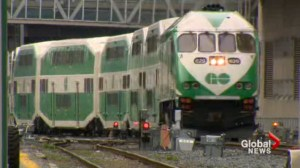 GO Train passengers stuck on train for hours after breakdown
