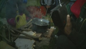 Go inside a refugee 'tent city' following Nepal quake