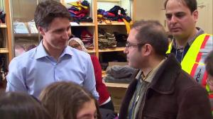 "Refugee family thanks Canada and plans to live ""the Canadian way"""