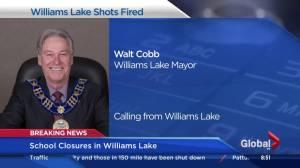 Williams Lake mayor on school closures and area violence
