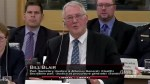 Liberal MP Bill Blair discusses marijuana black market during Senate Committee meeting