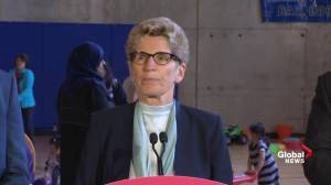 Wynne: Provincial budget fulfills what Mayor Tory wants for Toronto (02:33)