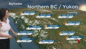 BC Evening Weather Forecast: Jan 1