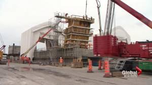 Champlain Bridge celebrates one year