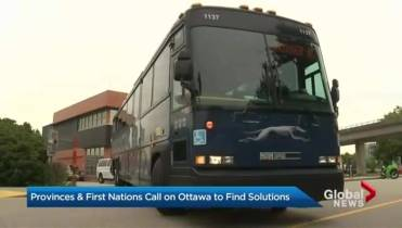 Other bus companies step in as Greyhound ends western Canada service