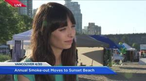 Why Vancouver's annual 4/20 protest is on the move to Sunset Beach (05:04)