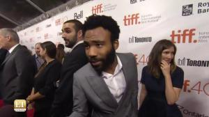 TIFF Red Carpet – The Martian: Donald Glover