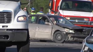 One person injured in crash on Highway 115