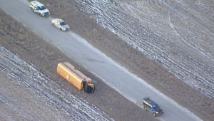 Southern Alberta bus crash send 2 students, driver to hospital