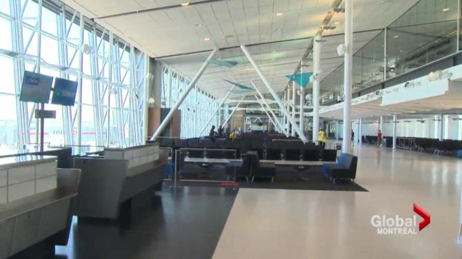 how to get to montreal airport