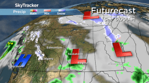 Saskatoon weather outlook: system after system swings in