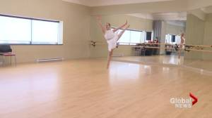 Moncton ballerina accepted into prestigious ballet school, shattering stereotypes along the way (02:13)