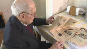 94-year-old war vet shares his story
