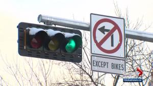 Traffic sign enrages Edmonton's High Street business owners