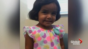 'We want answers': Crowd chants outside home of missing 3-year-old Texas girl allegedly left outside as punishment