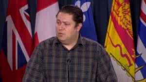 Back-to-work legislation puts 'chilling effect' on Canada Post labour negotiations: CUPW (00:35)