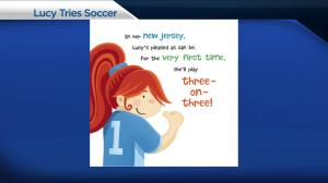 'Lucy Tries Sports' book series promotes kids getting active
