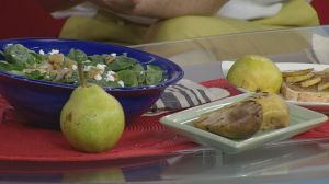Healthy Living: healthy family meals using pears