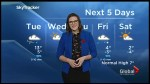 Rain and gusty winds for Tuesday