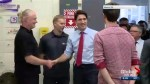 Justin Trudeau in Saskatoon for several events including a Liberal donor event