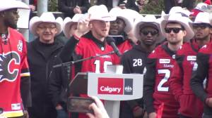 'We messed that Edmonton locker room up': Stampeders QB Bo Levi Mitchell